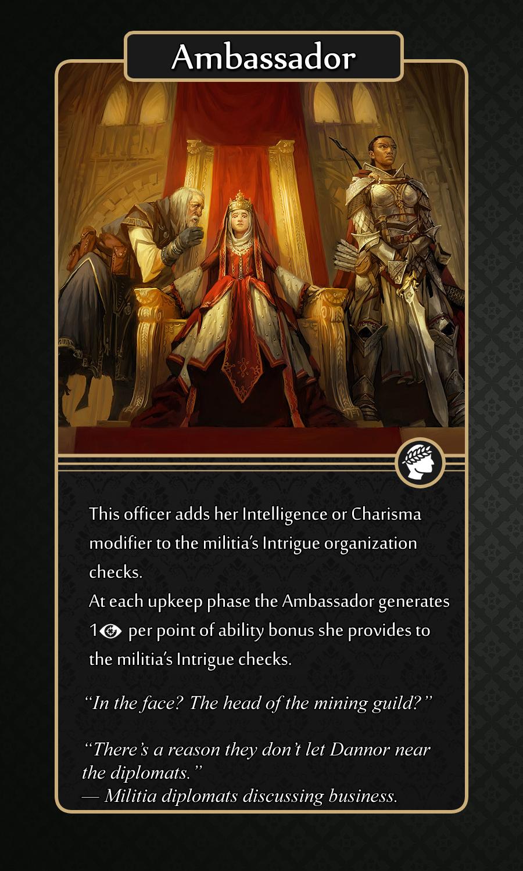 Militia System - The Sagas of Golarion